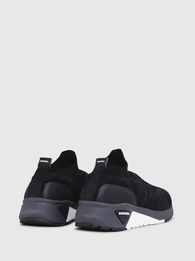 Diesel - S-KB ATHL SOCK, Negro - Sneakers - Image 3