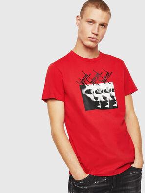 T-DIEGO-J12, Rojo - Camisetas