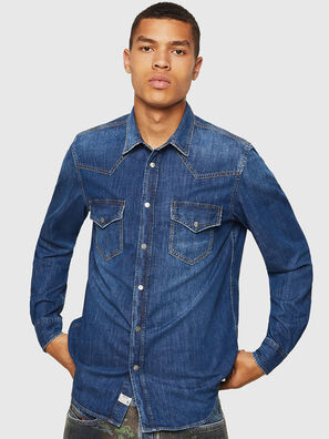 D-EAST-P, Blue Jeans - Camisas de Denim