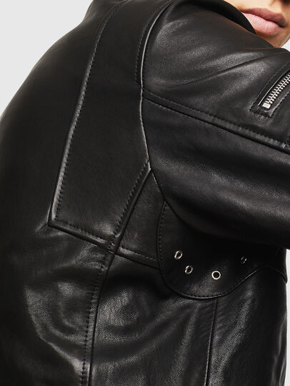 Diesel - L-TOVMAS, Negro - Chaquetas de piel - Image 5