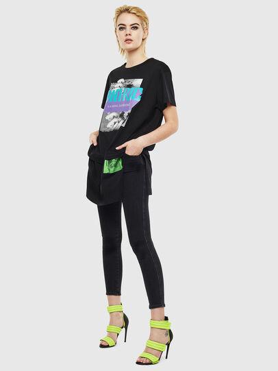 Diesel - T-SHALIE, Negro - Camisetas - Image 6