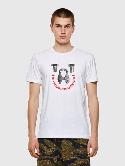 Diesel - T-DIEGOS-B3, Blanco - Camisetas - Image 1