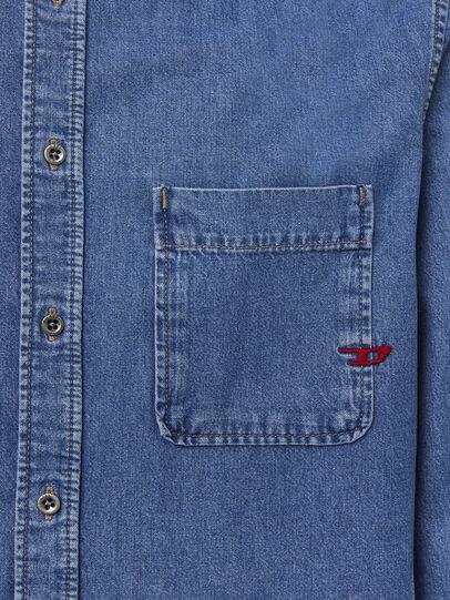 Diesel - D-BILLY, Azul Claro - Camisas de Denim - Image 3