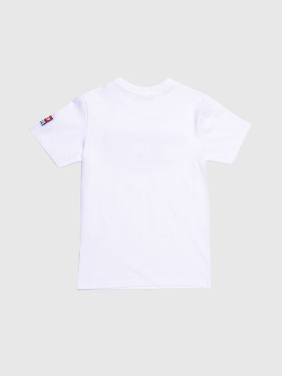 Diesel - TJUSTDIVISION-D, Blanco - Camisetas y Tops - Image 2