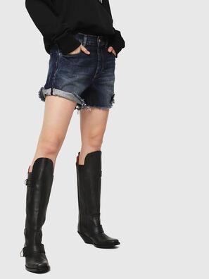 DE-LOWY, Azul medio - Shorts