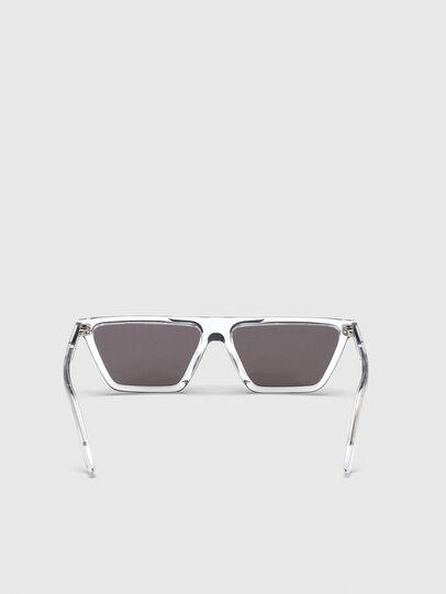 Diesel - DL0304, Blanco - Gafas de sol - Image 4