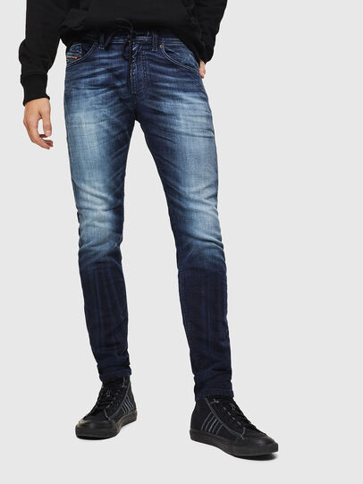 Diesel - Thommer JoggJeans 069IE, Azul Oscuro - Vaqueros - Image 1