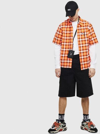 Diesel - S-ATWOOD-A, Naranja - Camisas - Image 5