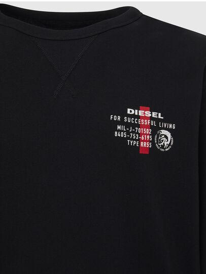Diesel - UMLT-WILLY, Negro - Sudaderas - Image 3