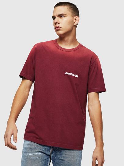 Diesel - T-DIKEL, Burdeos - Camisetas - Image 1