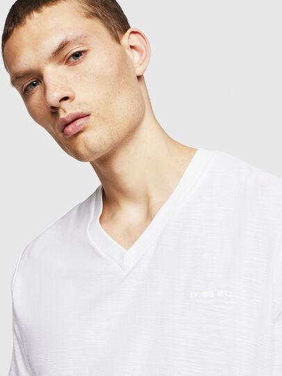 Diesel - T-RANIS, Blanco - Camisetas - Image 3