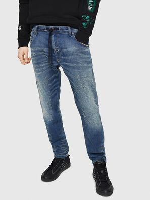 Krooley JoggJeans 069HG, Azul medio - Vaqueros