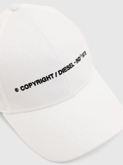 Diesel - COMIXI, Blanco - Gorras - Image 3