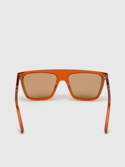 Diesel - DL0323, Naranja - Gafas de sol - Image 4