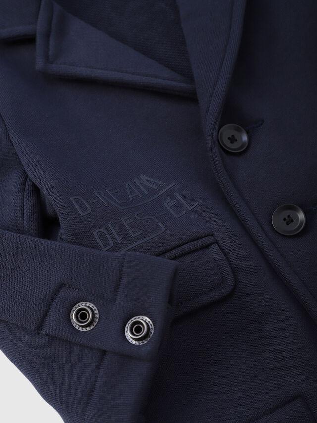 Diesel - SILKEB, Azul Oscuro - Sudaderas - Image 3