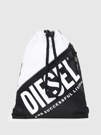 Diesel - BBAG-SACK, Blanco/Negro - Accesorios de playa - Image 1