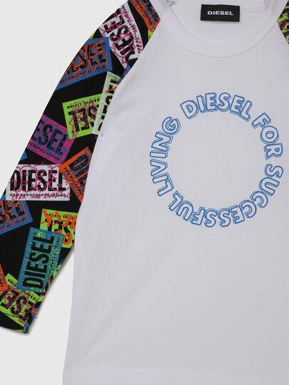 Diesel - TENTYB-R, Blanco - Camisetas y Tops - Image 3