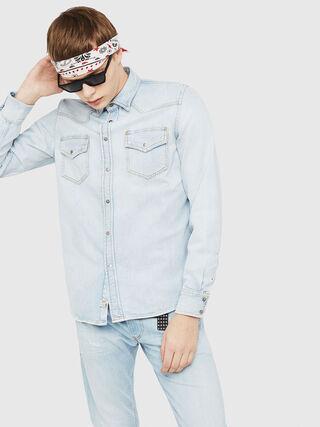 D-EAST-P,  - Camisas de Denim