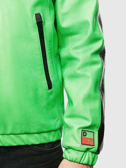 Diesel - L-CARRSY, Verde Fluo - Chaquetas de piel - Image 6