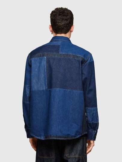 Diesel - D-HORUS, Azul - Camisas de Denim - Image 2