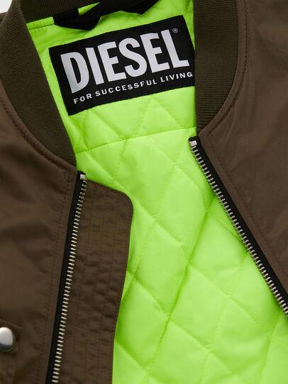 Diesel - J-JAVIER, Verde Militar - Chaquetas - Image 8