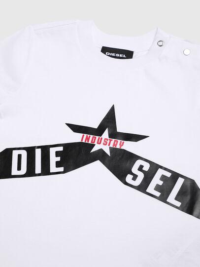 Diesel - TDIEGOA7B, Blanco - Camisetas y Tops - Image 3
