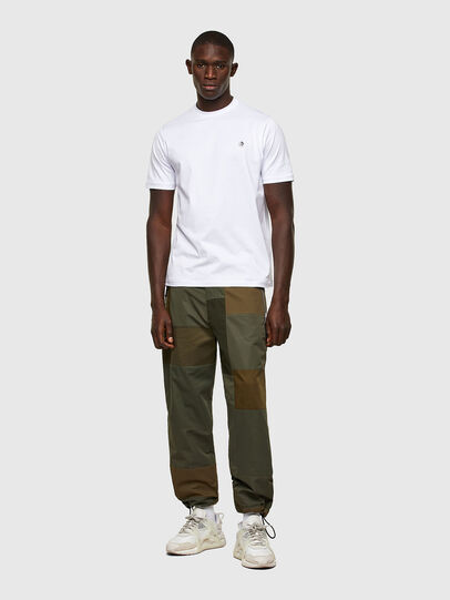Diesel - T-JUSTY, Blanco - Camisetas - Image 4