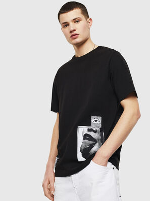 T-JUST-T18, Negro - Camisetas