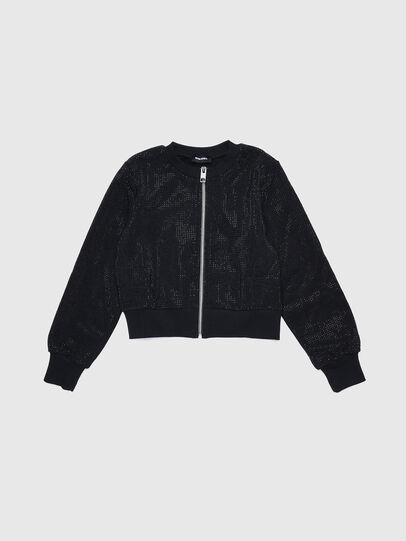 Diesel - STWINY, Negro - Sudaderas - Image 1