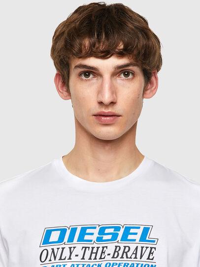 Diesel - T-DIEGOS-K20, Blanco - Camisetas - Image 3