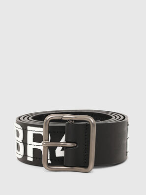 B-R4V3, Negro/Blanco - Cinturones