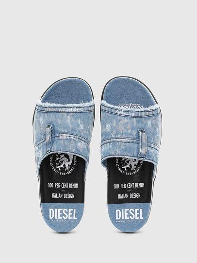 Diesel - SA-GRAND OT, Blue Jeans - Chanclas - Image 4