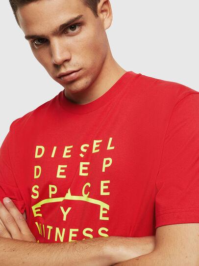 Diesel - T-JUST-J5, Rojo - Camisetas - Image 3