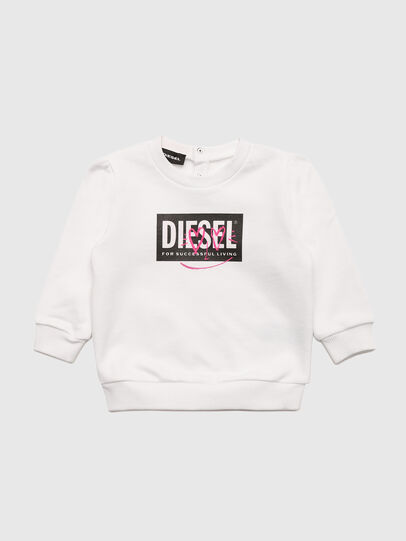 Diesel - SOOLB, Blanco - Sudaderas - Image 1