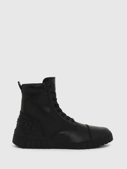 Diesel - H-RUA AM, Negro - Sneakers - Image 1