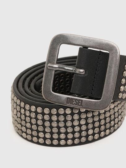 Diesel - B-CINGU, Negro - Cinturones - Image 2