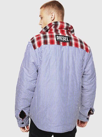 Diesel - S-JOHNS, Rojo/Negro - Camisas - Image 4