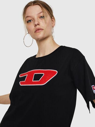 Diesel - T-JACKY-I, Negro - Camisetas - Image 5