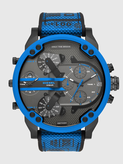 Diesel - DZ7434, Azul marino/Negro - Relojes - Image 1