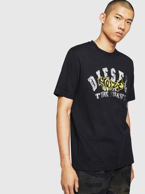 T-JUST-B25, Negro - Camisetas
