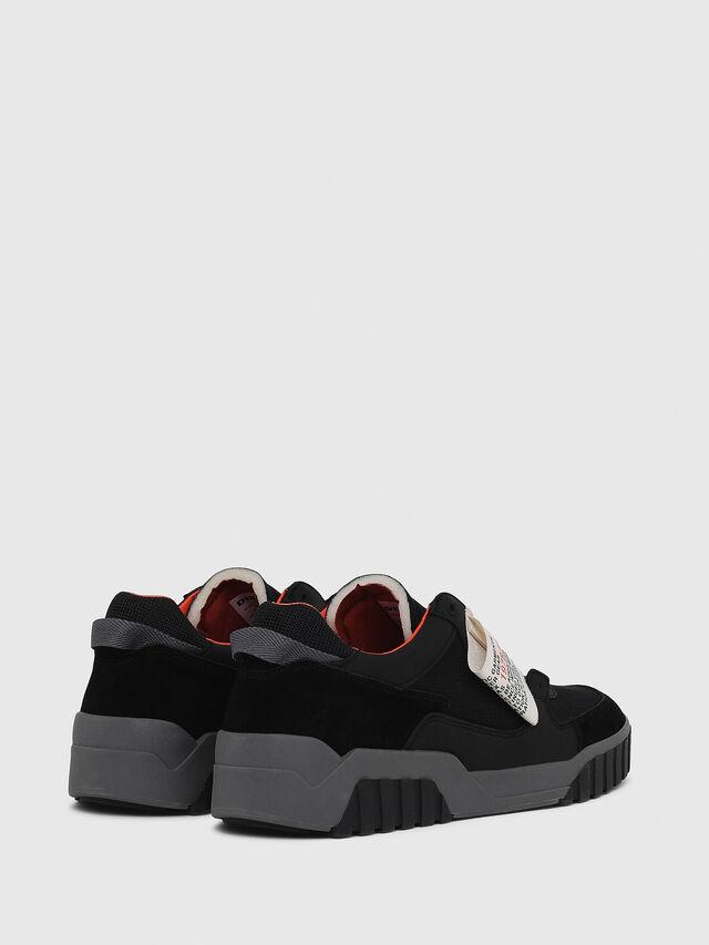 Diesel - S-LE RUA ON, Negro - Sneakers - Image 3