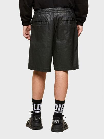 Diesel - D-HORTY-SP JOGGJEANS, Negro - Shorts - Image 2