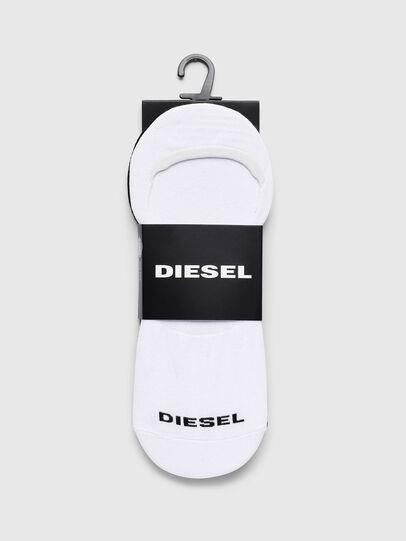 Diesel - SKM-NOSHOW-TWOPACK, Blanco/Negro - Calcetines - Image 2