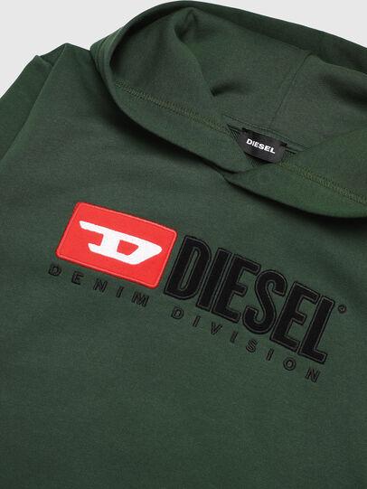 Diesel - SDIVISION OVER, Verde Oscuro - Sudaderas - Image 3