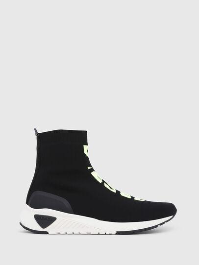 Diesel - S-KB MID ATHL SOCK, Negro - Sneakers - Image 1