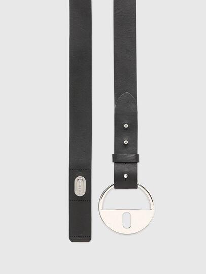 Diesel - B-DLOCK, Negro - Cinturones - Image 3