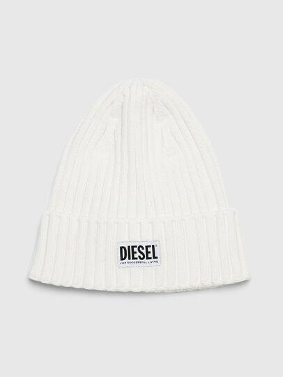 Diesel - K-CODER-E, Blanco - Gorros - Image 1