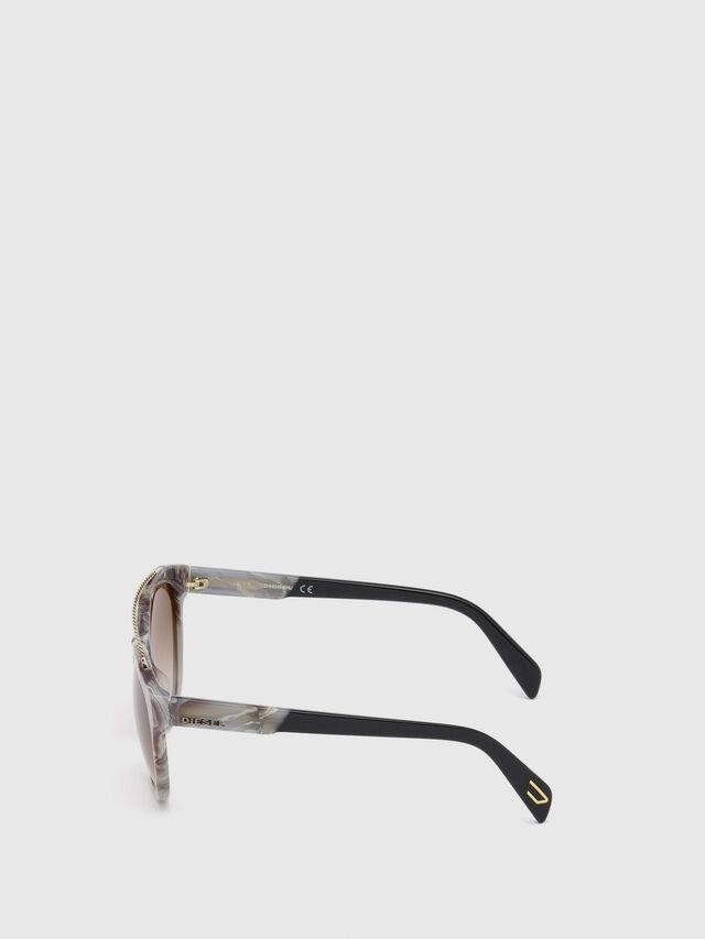 Diesel - DM0189, Gris - Gafas de sol - Image 3