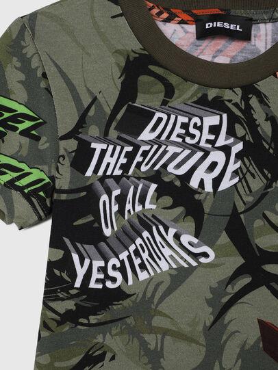 Diesel - TESEOB-R, Verde Militar - Camisetas y Tops - Image 3