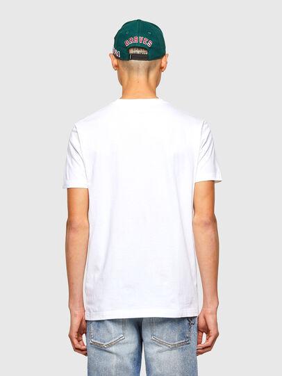 Diesel - CL-T-DIEGOS-O2, Blanco - Camisetas - Image 3